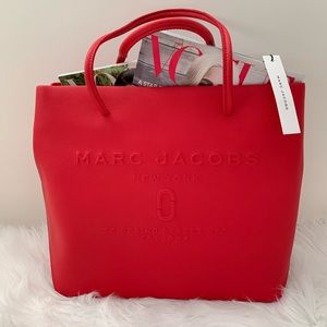 Marc Jacobs East/West Logo Shopper Tote